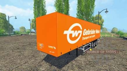 Schmitz Cargobull Gebruder Weiss для Farming Simulator 2015