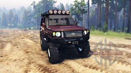 Toyota Land Cruiser 70 (J76) v2.0 для Spin Tires