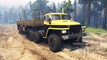 Урал 375 Мажор v1.1 для Spin Tires