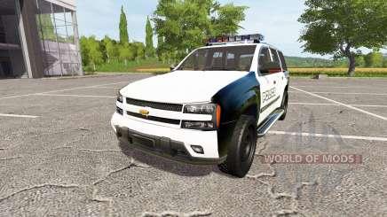 Chevrolet TrailBlazer Police для Farming Simulator 2017