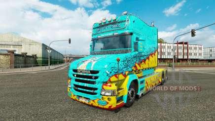 Скин McKays by Vince на тягач Scania T для Euro Truck Simulator 2