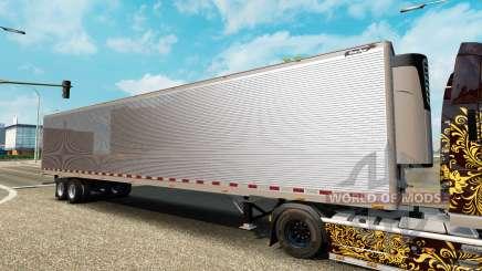 Сборник полуприцепов США для Euro Truck Simulator 2