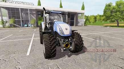 New Holland T7.315 v2.1 для Farming Simulator 2017