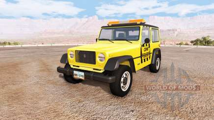 Ibishu Hopper emergency для BeamNG Drive