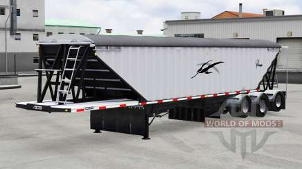 Lode King Prestige tri-axle для American Truck Simulator