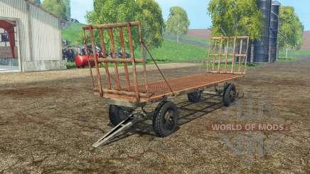 Bale trailer для Farming Simulator 2015
