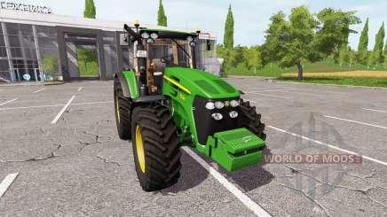 John Deere 7830 v2.2 для Farming Simulator 2017