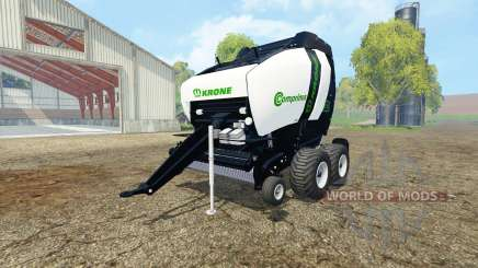 Krone Comprima V180 XC black v1.1 для Farming Simulator 2015
