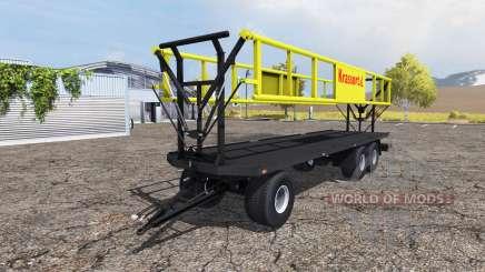 Krassort bale trailer v1.1 для Farming Simulator 2013