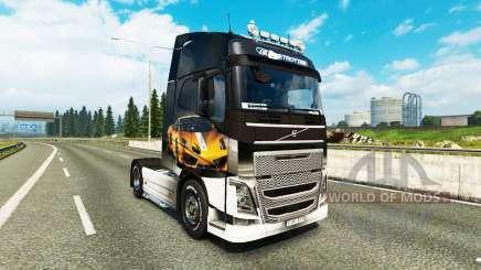 Скин Lamborghini Gallardo на тягач Volvo для Euro Truck Simulator 2