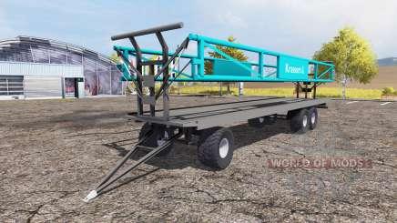 Krassort bale trailer для Farming Simulator 2013
