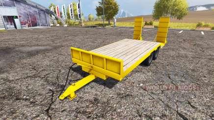 Kane low loader trailer для Farming Simulator 2013