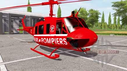Bell UH-1D sapeurs-pompiers для Farming Simulator 2017