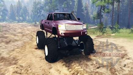 Dodge Dakota TTC для Spin Tires