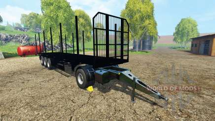 Fliegl universal semitrailer v1.5.4 для Farming Simulator 2015
