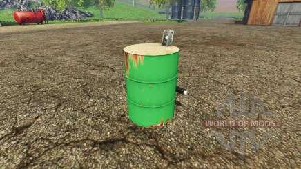 Barrel weight для Farming Simulator 2015