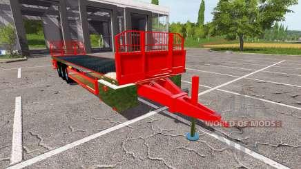 Trailer platform для Farming Simulator 2017