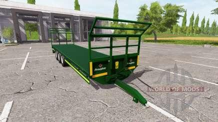 Broughan 36Ft autoload для Farming Simulator 2017