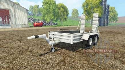 Car trailer YSM для Farming Simulator 2015
