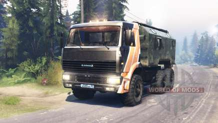 КамАЗ 6522 для Spin Tires