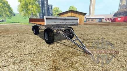 Fortschritt HW 80 bale trailer для Farming Simulator 2015