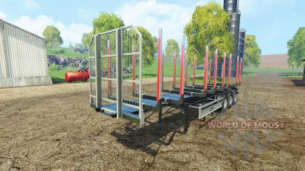 Timber semitrailer autoload Fliegl для Farming Simulator 2015