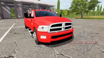 Dodge Ram 3500 для Farming Simulator 2017