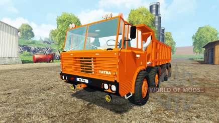 Tatra 813 S1 8x8 v2.0 для Farming Simulator 2015