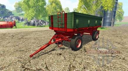 Krone Emsland v2.3 для Farming Simulator 2015
