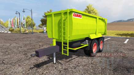 CLAAS tipper trailer для Farming Simulator 2013