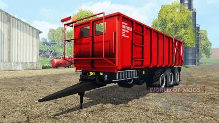 Ponthieux P24A red для Farming Simulator 2015
