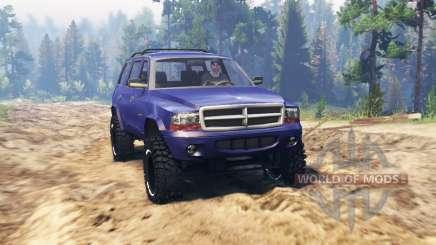 Dodge Durango 1998 для Spin Tires