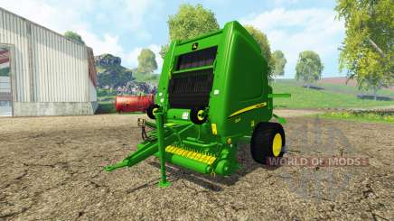 John Deere 864 Premium v3.0 для Farming Simulator 2015