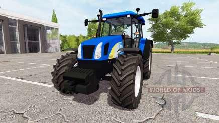 New Holland TL100A v1.1.1.1 для Farming Simulator 2017