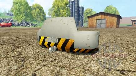 Weight Liebherr для Farming Simulator 2015