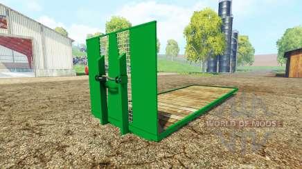 ITRunner plateau для Farming Simulator 2015