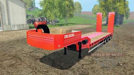 Semitrailer Galucho для Farming Simulator 2015