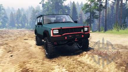 Jeep Cherokee 1994 для Spin Tires