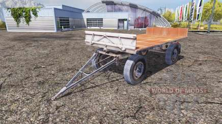 Fortschritt HW 80.11 bale trailer для Farming Simulator 2013