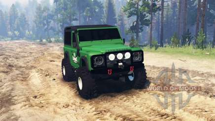Land Rover Defender для Spin Tires