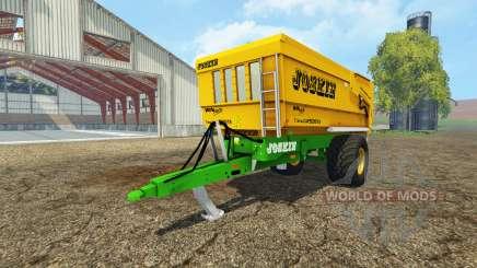 JOSKIN Trans-CAP 5000-14 для Farming Simulator 2015
