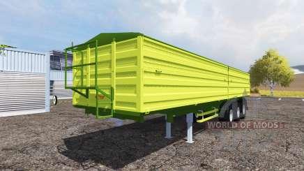 Fliegl tipper semitrailer для Farming Simulator 2013