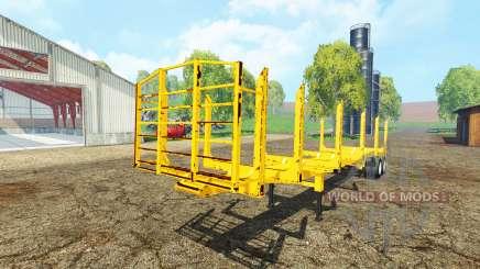 American logger trailer для Farming Simulator 2015