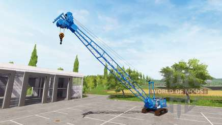 Crane для Farming Simulator 2017