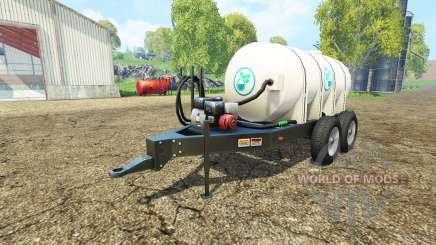 Lizard Fertilizer Trailer для Farming Simulator 2015