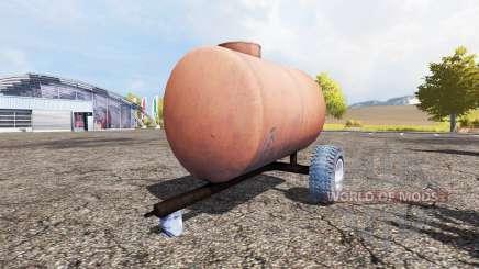 Water tank v1.4 для Farming Simulator 2013