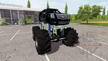 Cadillac Escalade lifted для Farming Simulator 2017