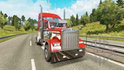 Kenworth W900 v2.0 для Euro Truck Simulator 2
