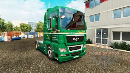 Скин Spedition Bartkowiak на тягач MAN для Euro Truck Simulator 2