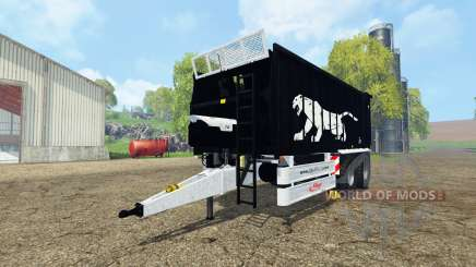 Fliegl ASW 268 black pantera edition v1.1 для Farming Simulator 2015